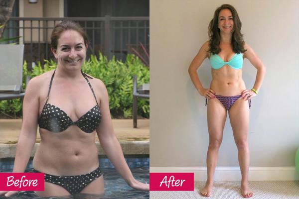 Kathryn Shepard, 33 tuổi, may mắn có một người đồng hành trong quá trình giảm cân là em gái. Hai chị em đã cùng tập luyện và ăn kiêng. Nhờ vậy, Kathryn đã giảm được 12 kg sau một năm.