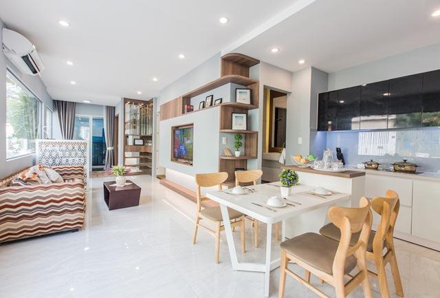 Hé lộ thiết kế phòng khách đầy tính Art C.T Plaza Nguyên Hồng