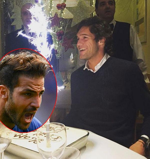 Fabregas nhắc khéo đàn em vì quên mời sinh nhật