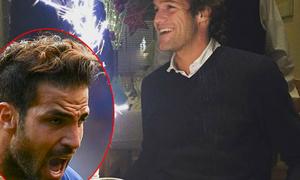 Fabregas nhắc khéo đàn em vì 'quên' mời sinh nhật