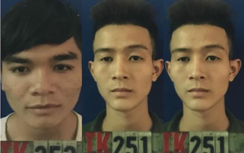 Kiều; Bắc và Nguyễn tại cơ quan điều tra.