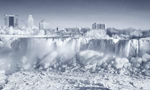 Thác Niagara đóng băng tựa vương quốc băng giá