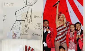 Công Trí thiết kế trang phục cho Gwen Stefani