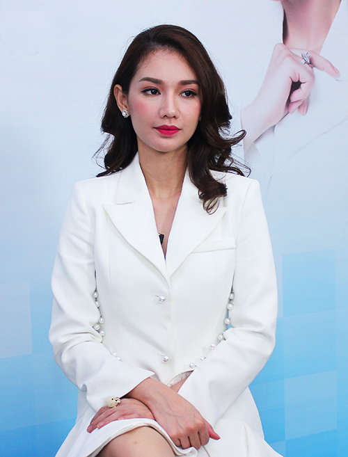 MC, diễn viên Quỳnh Chi;