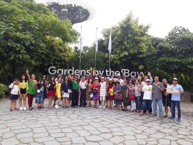 Khu vườn sinh thái đặc biệt mang tên Bay South Gardens by the Bay rộng hơn 101ha và hơn 250.000 loài thực vật quý hiếm.