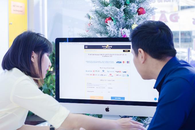 Anh Huỳnh Thái Bảo mua điện thoại iPhone X, thanh toán trả góp qua Alepay.