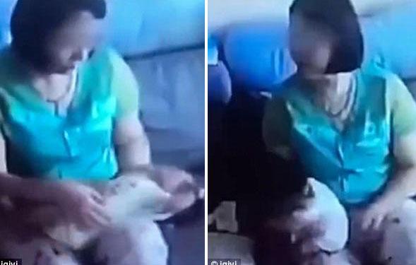 Bị bắt quả tang rung lắc trẻ 1 tháng tuổi dã man, bảo mẫu giải thích để ợ hơi
