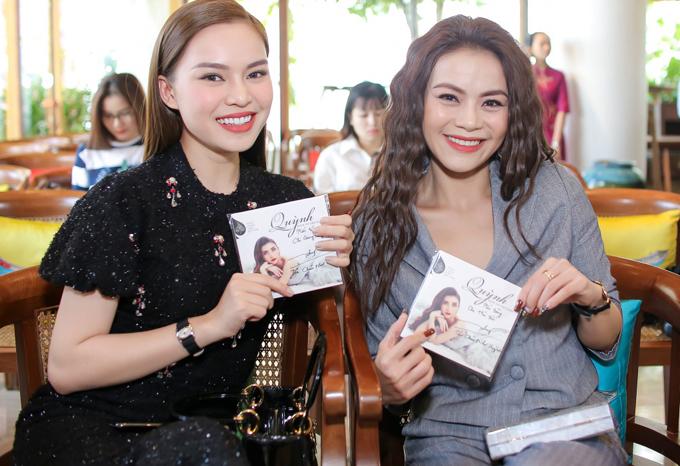 Giang Hồng Ngọc và Hải Yến Idol mừng đồng nghiệp có bước tiến mới trong sự nghiệp.