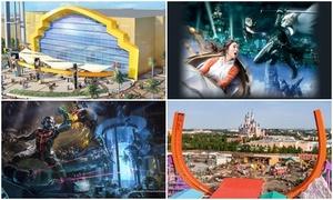 4 khu công viên giải trí theo chủ đề ở châu Á sẽ mở cửa năm 2018