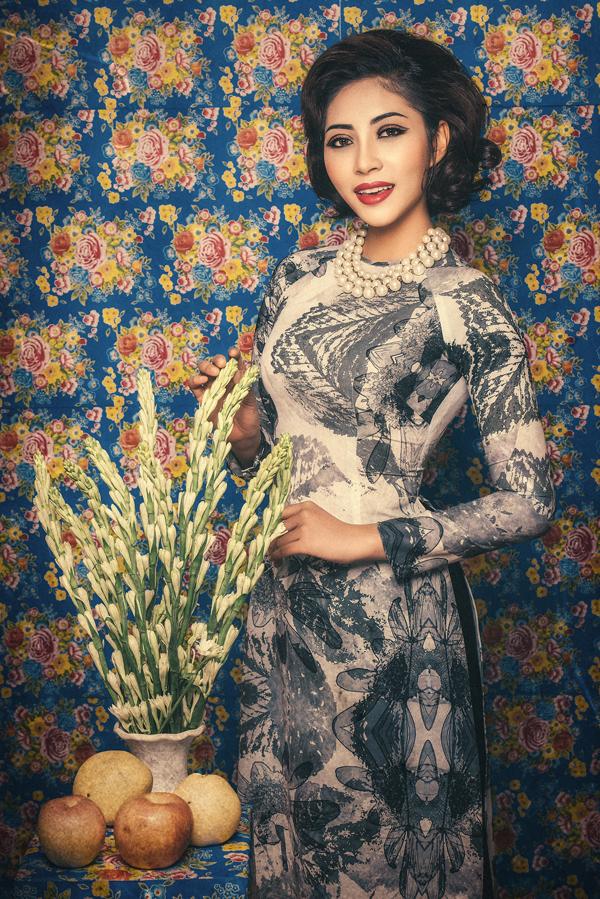 Đặng Thu Thảo hóa Cô Ba Sài Gòn với style trang điểm cổ điển - 3