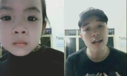 Hai cậu cháu cover ca khúc ballad 'Buồn của anh' như ca sĩ