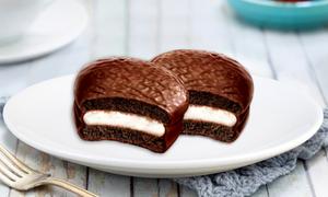 Hương vị đậm đà trong chiếc bánh Choco.Pie Dark