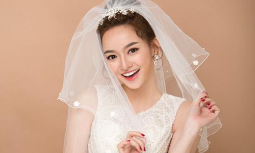Kaity Nguyễn biến hóa cùng phong cách trang điểm cưới 2018