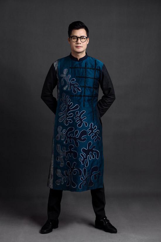 Ca sĩ Quang Dũng làm người mẫu áo dài - 4