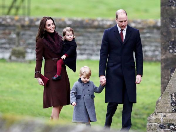 Vì sao Hoàng tử William không dắt tay con gái khi xuất hiện trước công chúng?