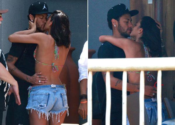 Sau khi thông báo nối lại tình xưa với diễn viên Bruna Marquezine, Neymar và người đẹp cùng nhau đi nghỉ đón năm mới.