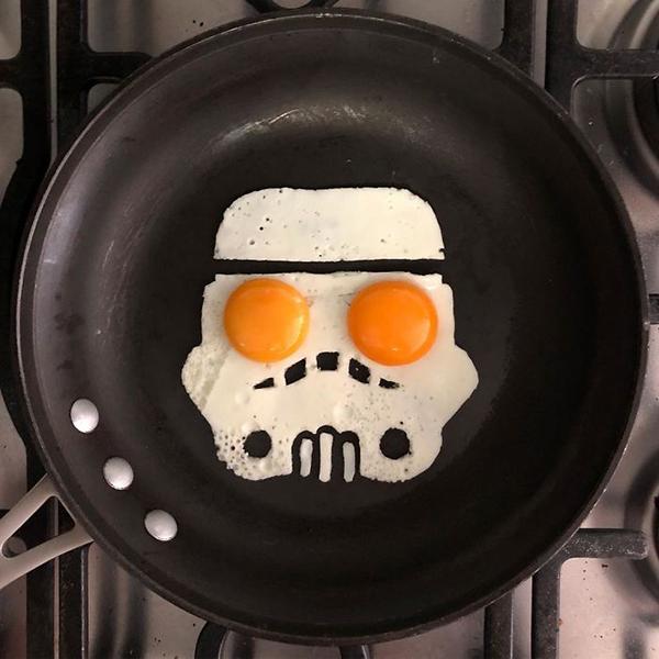 Chàng trai biến bữa sáng từ trứng thành tác phẩm nghệ thuật - 2