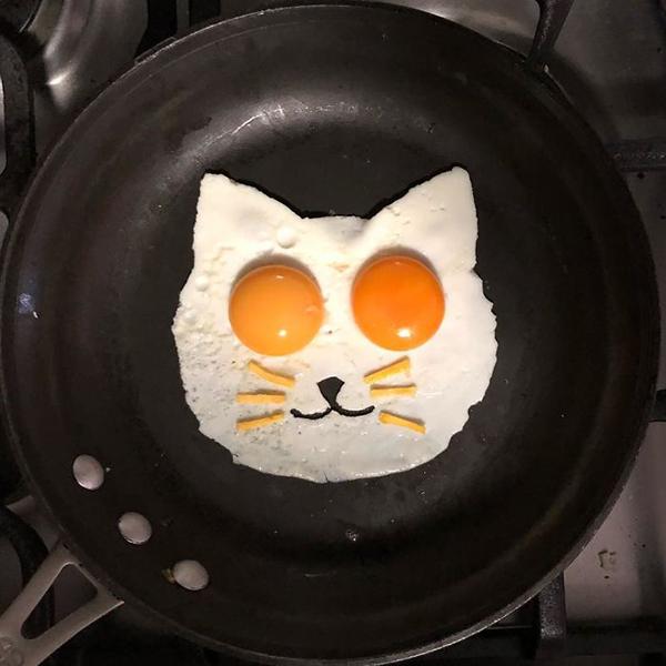 Chàng trai biến bữa sáng từ trứng thành tác phẩm nghệ thuật - 10