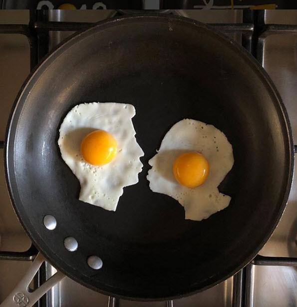 Chàng trai biến bữa sáng từ trứng thành tác phẩm nghệ thuật - 12
