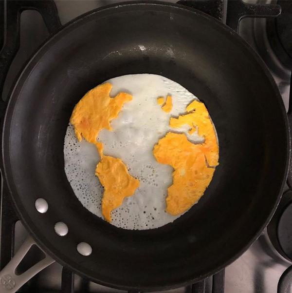 Chàng trai biến bữa sáng từ trứng thành tác phẩm nghệ thuật - 5