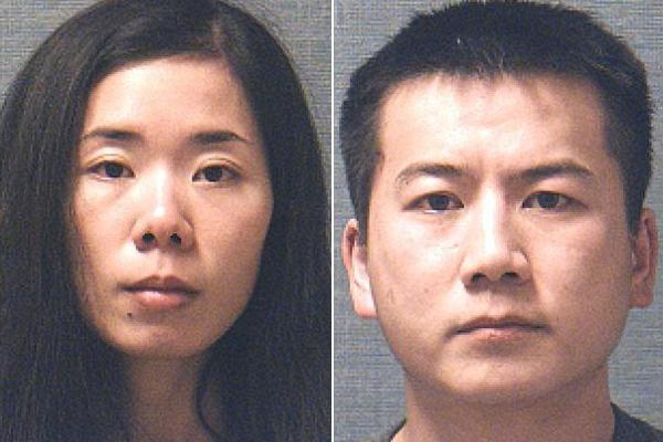 Ming Ming Chen và chồng, Liang Zhao. Ảnh:Stark County Sheriffs Department