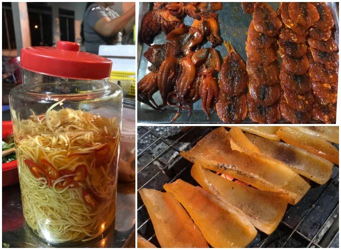 Bì heo nướng - món ăn vặt độc đáo chỉ có ở Hà Tiên