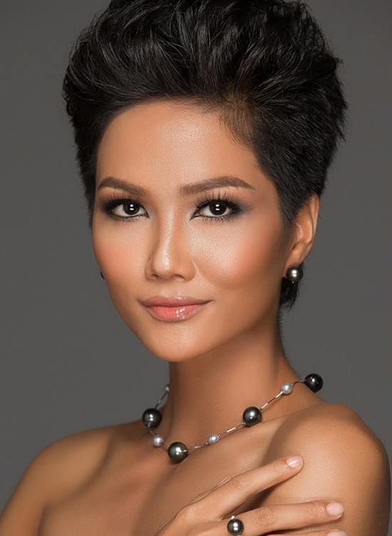 Hành trình đến vương miện Hoa hậu Hoàn vũ Việt Nam 2017 của HHen Nie - 11