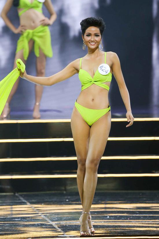 Hành trình đến vương miện Hoa hậu Hoàn vũ Việt Nam 2017 của HHen Nie - 12