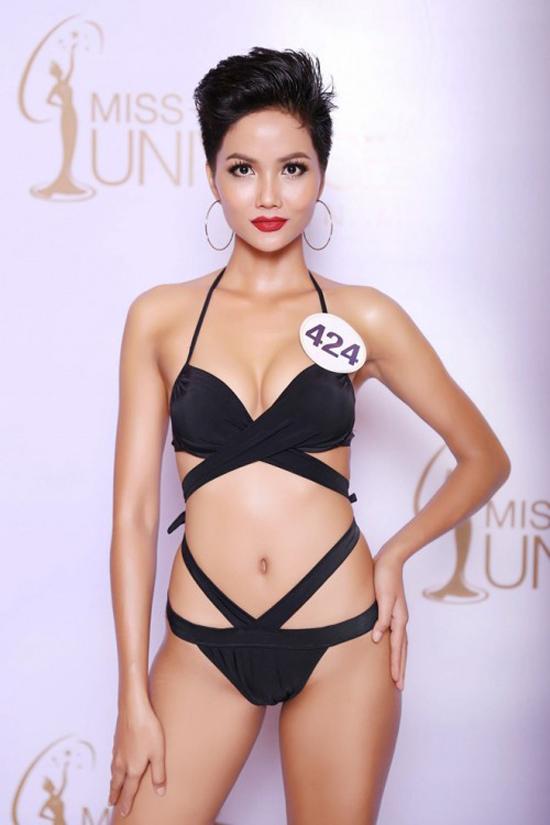 Hành trình đến vương miện Hoa hậu Hoàn vũ Việt Nam 2017 của HHen Nie - 13