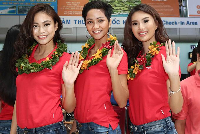 Hành trình đến vương miện Hoa hậu Hoàn vũ Việt Nam 2017 của HHen Nie - 3