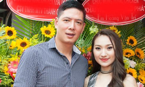 Bình Minh và dàn nghệ sĩ nam tới chúc mừng Cao Mỹ Kim