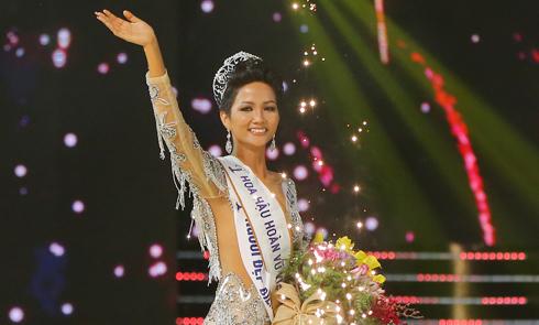 Hành trình đến vương miện Hoa hậu Hoàn vũ Việt Nam 2017 của H'Hen Niê