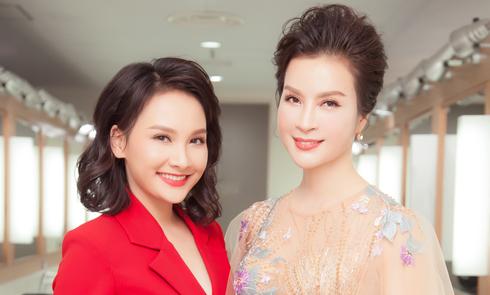 Thanh Mai khoe nhan sắc tuổi 45 bên diễn viên Bảo Thanh