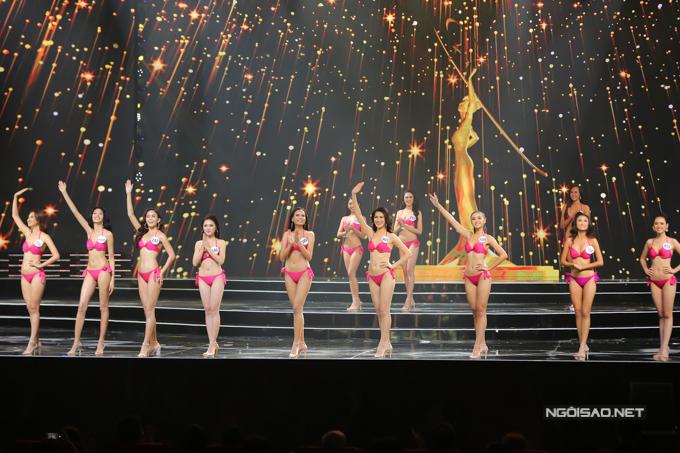 Sau phần thi này, top 10 của Hoa hậu Hoàn vũ Việt Nam 2017 đã được công bố.