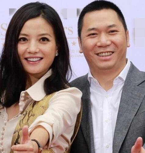 Triệu Vy và chồng, thương gia Huỳnh Hữu Long.