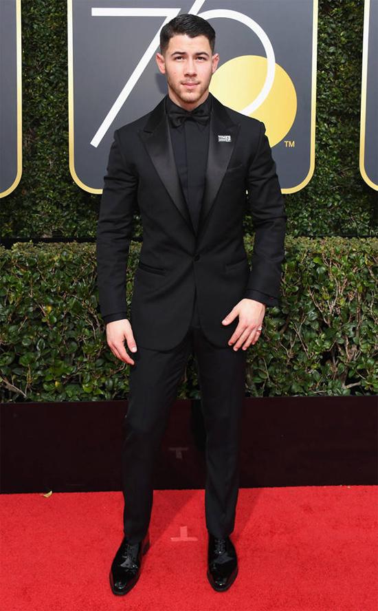Ca sĩ kiêm diễn viên Nick Jonas.