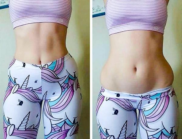 Việc tập luyện giúp bạn có vóc dáng săn chắc, khỏe khoắn hơn nhưng không có nghĩa là cơ thể sẽ hoàn hảo từng centimet như người mẫu trên tạp chí, không chút mỡ thừa.