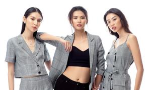 3 cô gái Next Top Model cá tính trong bộ ảnh thời trang