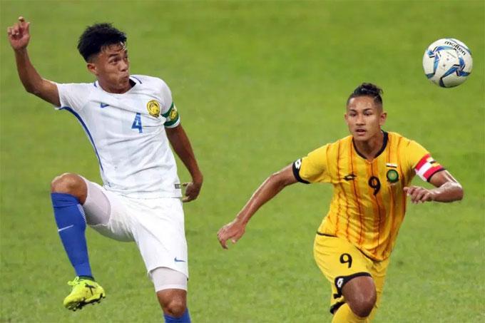 Faiq Bolkiah là đội trưởng tuyển Brunei. Ảnh: NS.
