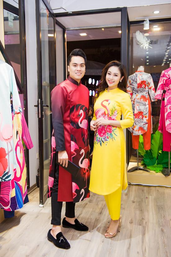 Việt Anh không sợ vợ ghen khi mặc dài đôi với Đan Lê - 11