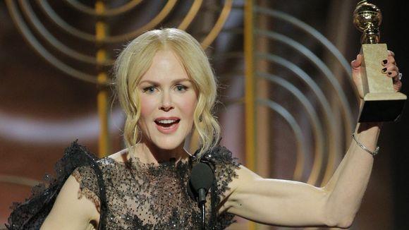 Nicole Kidman đoạt Quả cầu vàng.