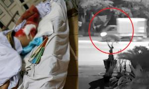 Lái xe tải trộm cây cảnh tông người đàn ông trọng thương