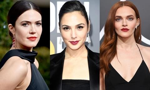 10 mỹ nhân trang điểm đẹp nhất trên thảm đỏ Quả cầu vàng 2018