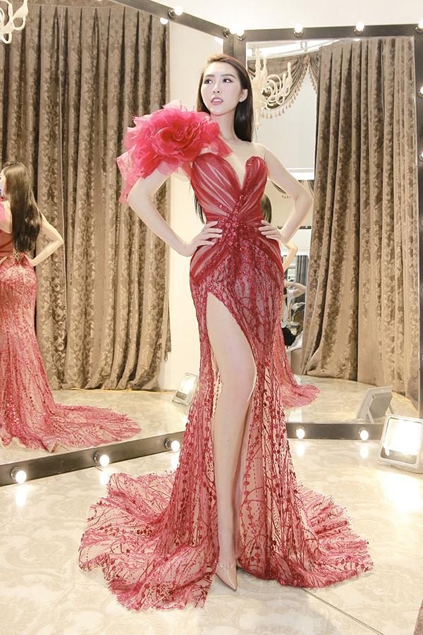 Tường Linh mang hơn 50 bộ trang phục đi thi Hoa hậu Liên lục địa - 3