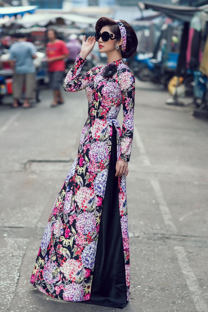 Áo dài \'Cô ba Sài Gòn\' thành hot trend đón Tết Nguyên đán