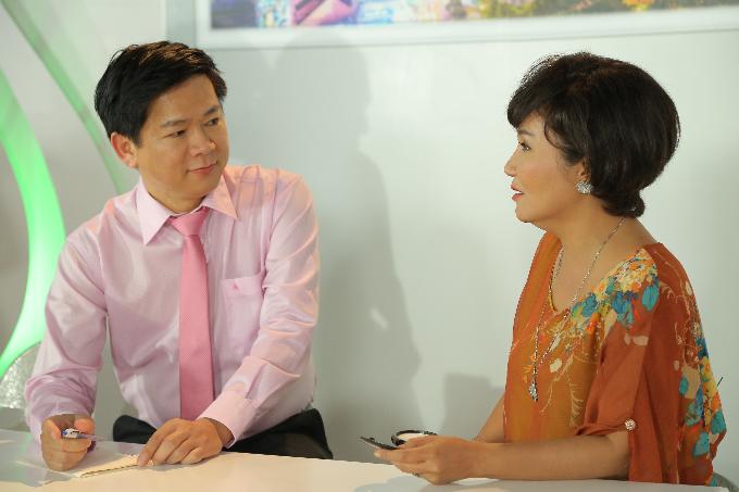 Bác sĩ Tú Dung và nghệ sĩ Ngân Quỳnh.