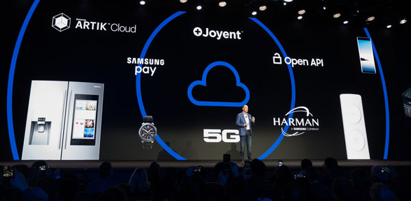 Samsung triển khai loạt thiết bị kết nối IoT vào năm 2020 - 2