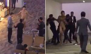 Dùng thuốc kích dục quá liều, hành khách khỏa thân làm loạn ở sân bay
