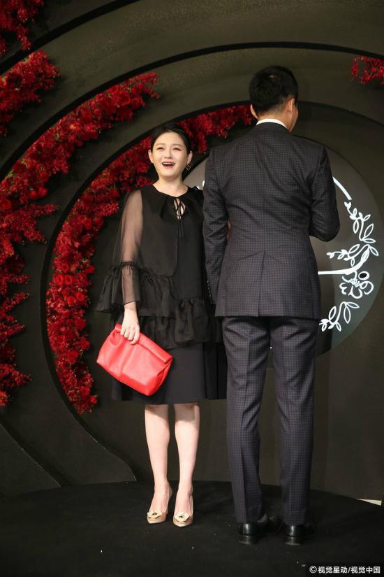 Từ Hy Viên đi đám cưới An Dĩ Hiên tháng 6 năm ngoái. Ảnh: Apple