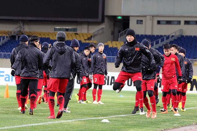 U23 Việt Nam sung sức, sẵn sàng đấu Hàn Quốc - 4